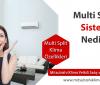 Multi Split Sistem Nedir? Nasıl Çalışır?